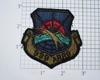 USAF 939th ARRG (Aerospace Rescue & Recovery Group) Subdued Iron-On Vintage Embroidered Military Uniform Patch Keepsake Memento Collectible