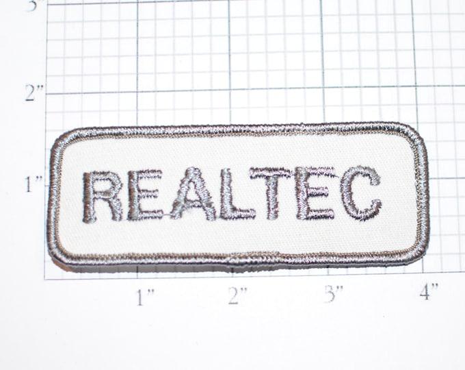REALTEC Vintage Iron-on Embroidered Clothing Patch for Uniform Shirt Jacket Vest Hat Emblem Logo Insignia