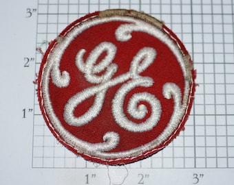 5 Lot Vintage G E General Electric Employee Uniform Jacket Hat Patches Crests A
