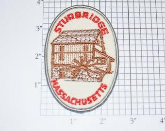 Boston Massachusetts Souvenir Skyline Patch
