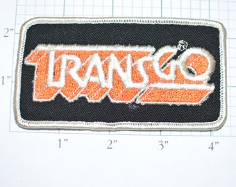TRANSGO Rare Vintage Sew-On Patch Shift Kits Transmission Parts Embroidered Shirt Jacket Uniform Patch Mechanic Garage Car Guy Auto s14