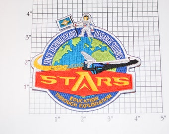 STARS Space Technology and Research Students Iron-on Collectible Memorabilia Education Through Exploration Logo Insignia Emblem Keepsake