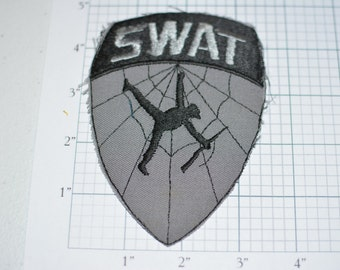SWAT Team Special Weapons and Tactics Police Vintage Iron-on Clothing Patch Jacket Patch Shirt Patch Vest Patch Backpack Patch e7