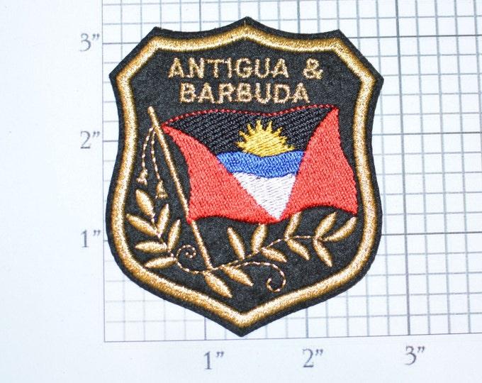 Patch printed embroidery travel souvenir shield city flag salzburg austria