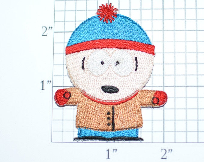 Stan Marsh Shocked Amazed Southpark RARE Iron-On Vintage Patch LICENSED Funny Conversation Starter *Limited Stock* Comedy Central e20v