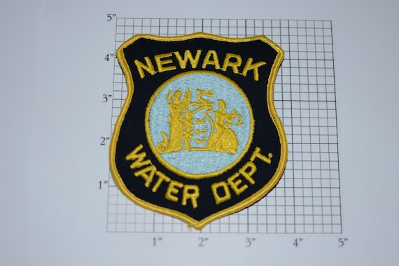 New Jersey iron-on embroidered patch