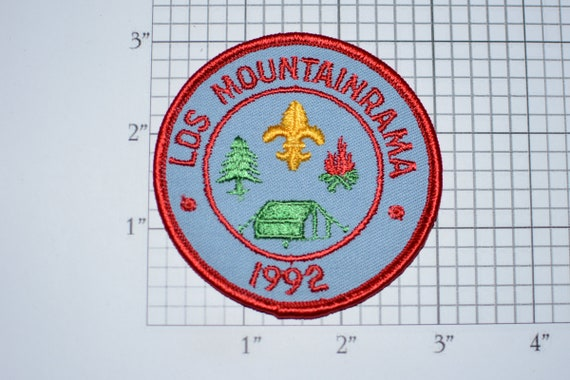 Get Lost Embroidered Patch Badge Travel Scout Hike Nature Mountain Camping