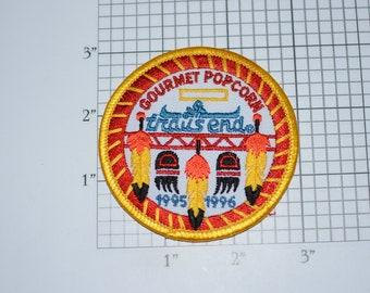 Gourmet Popcorn 1995 1996 Trail's End BSA Mint Vintage Iron-on Embroidered Clothing Patch Uniform Jacket Vest Badge Keepsake Memento