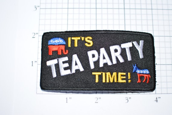 Conservative Party Iron On Patch Excellent Quality Beautifullyembroidered