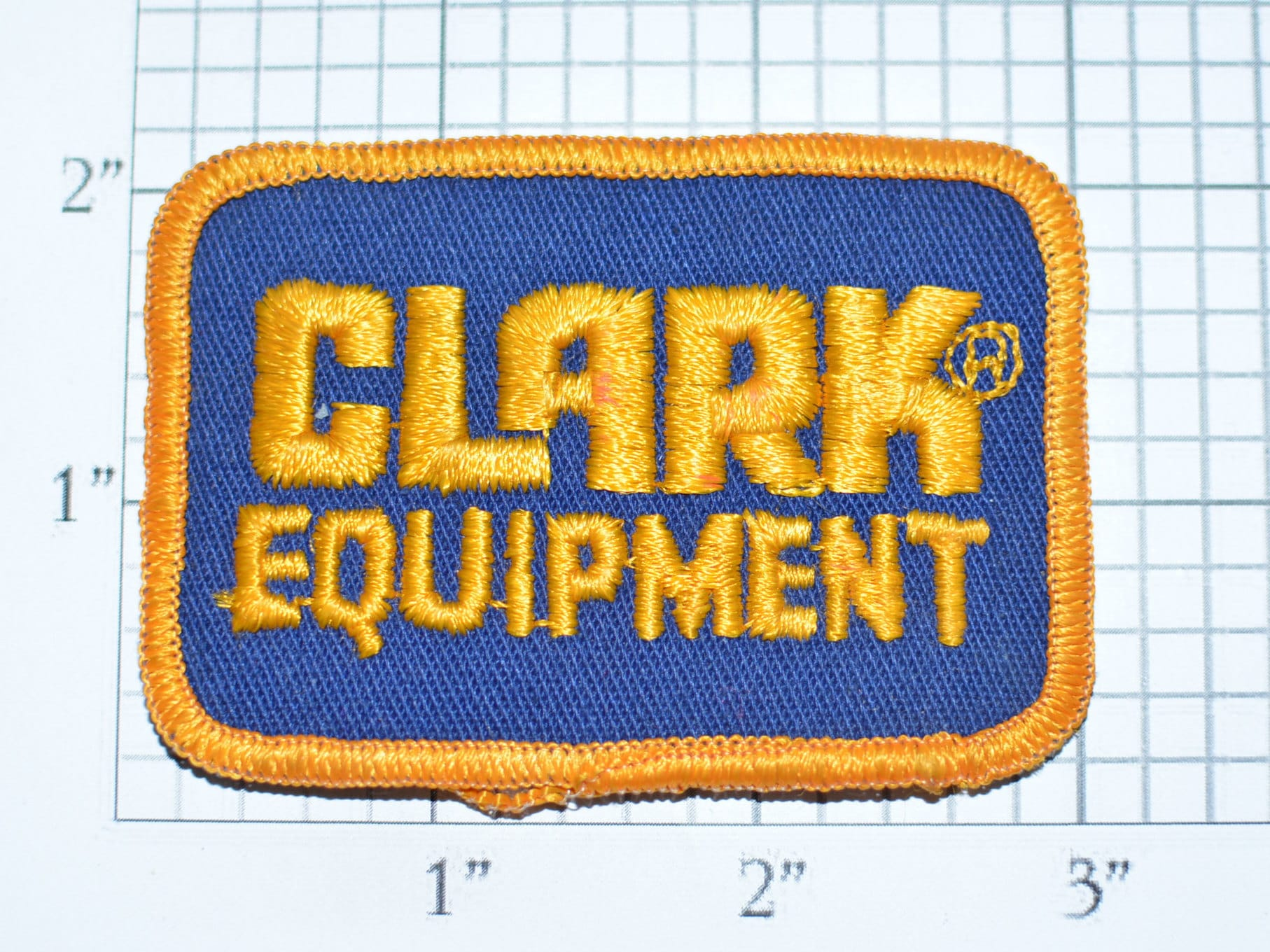 Clark Equipment Forklift Vintage Embroidered Iron-on