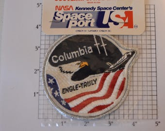 Swissartex STS-2 Columbia Space Shuttle Mission Patch Engle Truly Iron-on Vintage Patch Jacket Patch Backpack Patch Vest Patch Astronaut f1