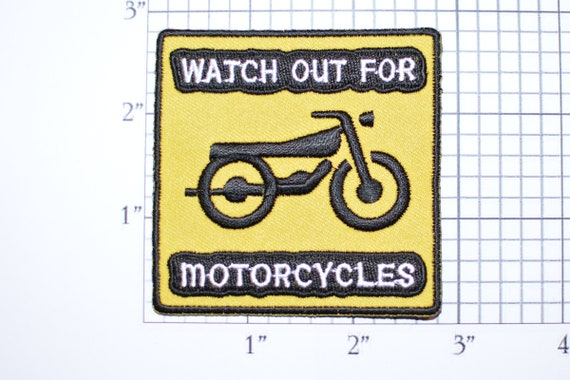 iron-on PATCH embroidered NOVELTY Biker ALL PEOPLE SUCK YELLOW