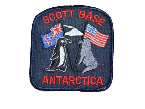 Flag of Antarctica Embroidered PATCH//BADGE