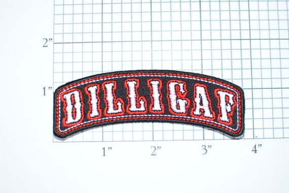Embroidery Patch B//O New DILLIGAF