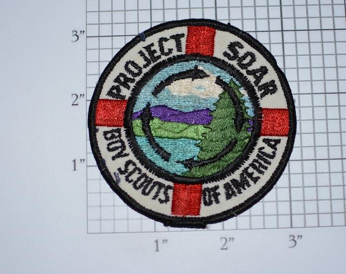 Project Soar Boy Scouts of America BSA Vintage Embroidered Uniform Patch Cub Memento Emblem Badge Collectible Keepsake Logo