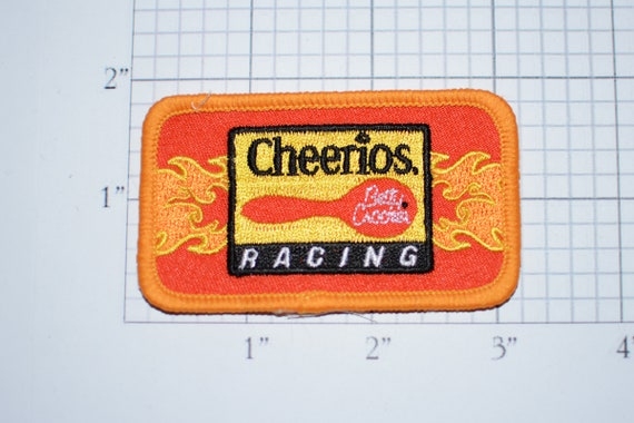Cheerios betty crocker racing embroidered patch sew on etsy