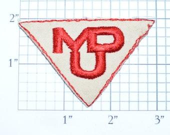 Montana Dakota Utilities Company MDU Resource Group Sew-on Vintage Clothing Patch (NO Border) for Uniform Jacket Work Shirt Emblem Logo Text
