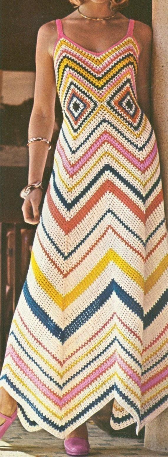Chevron Maxi Dress Pattern