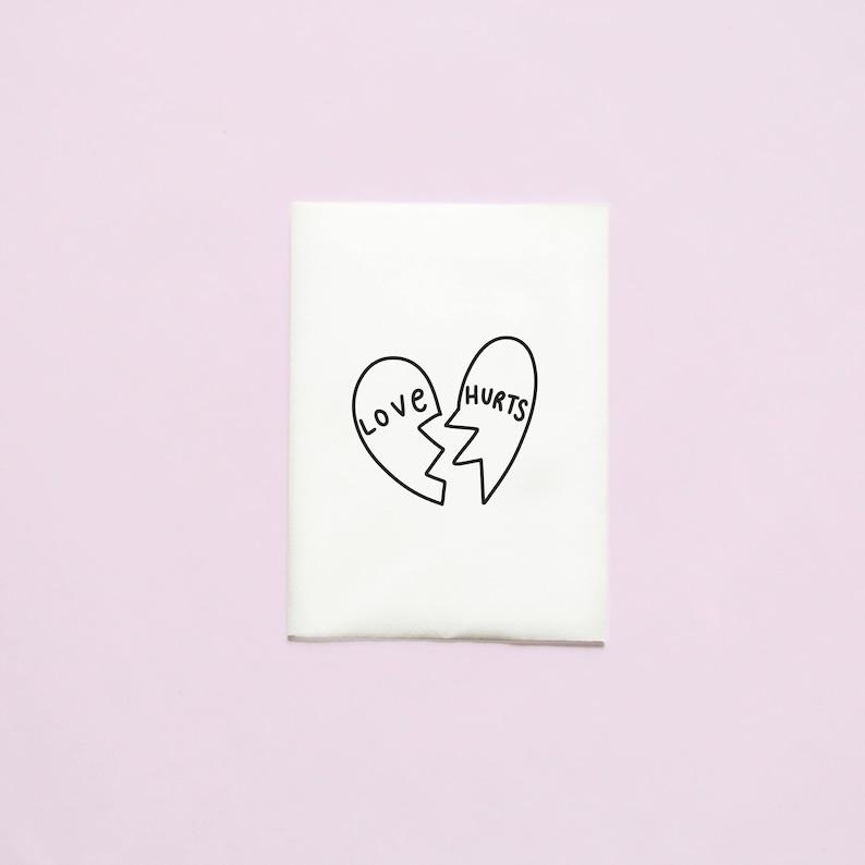 35d681413db32 Broken Heart Temporary Tattoo Love Hearts Crushed Heart | Etsy