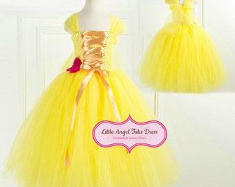 princess belle dress etsy
