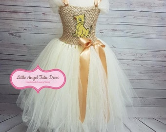 Nala Lion Guard Dress   The Lion Guard   Lion King Tutu Dress   Nala  Costume Dress   Handmade Tutu Dress   Birthday Dress   Fancy Dress