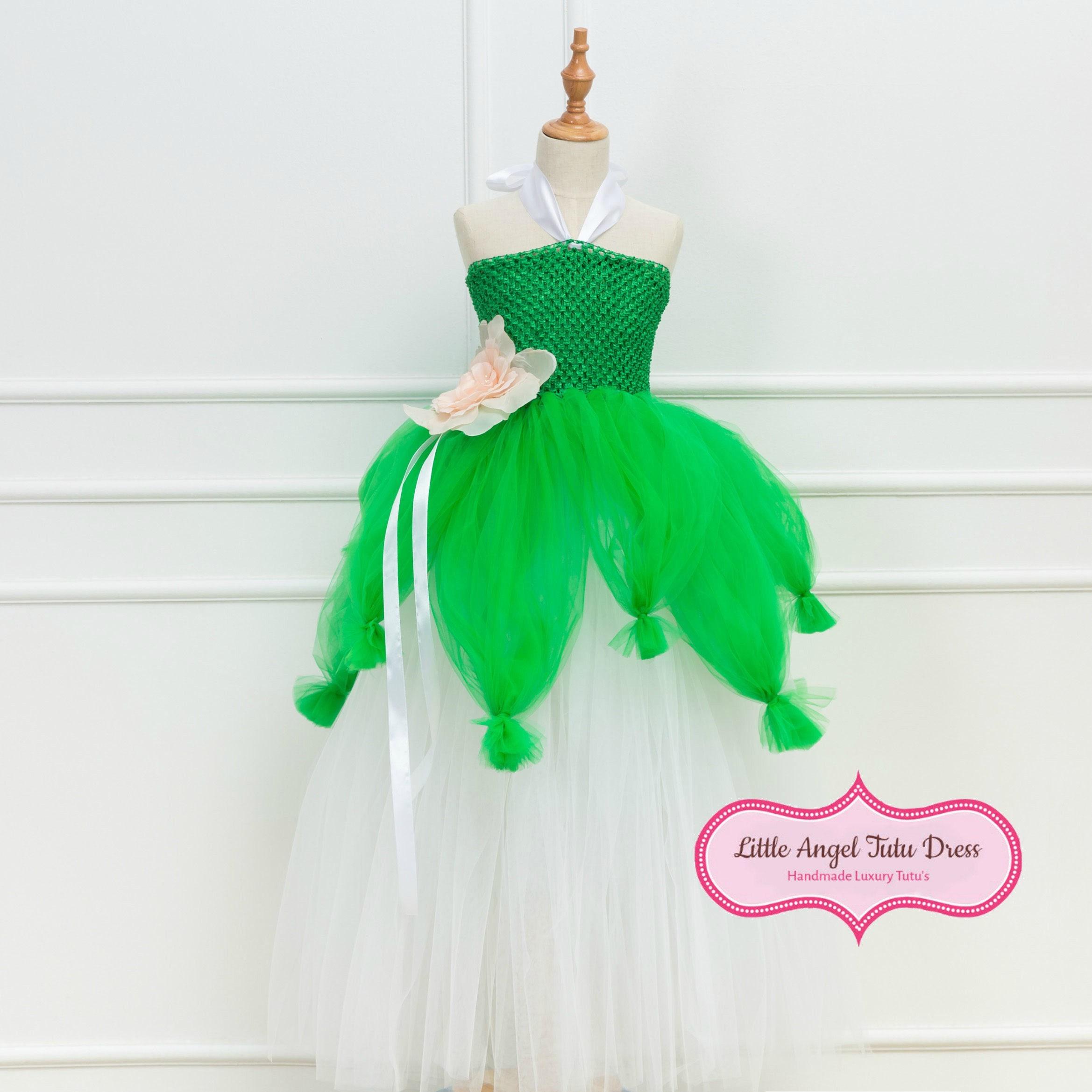 Princess Tiana Dress: Princess Tiana Tutu Dress Princess And The Frog Fancy