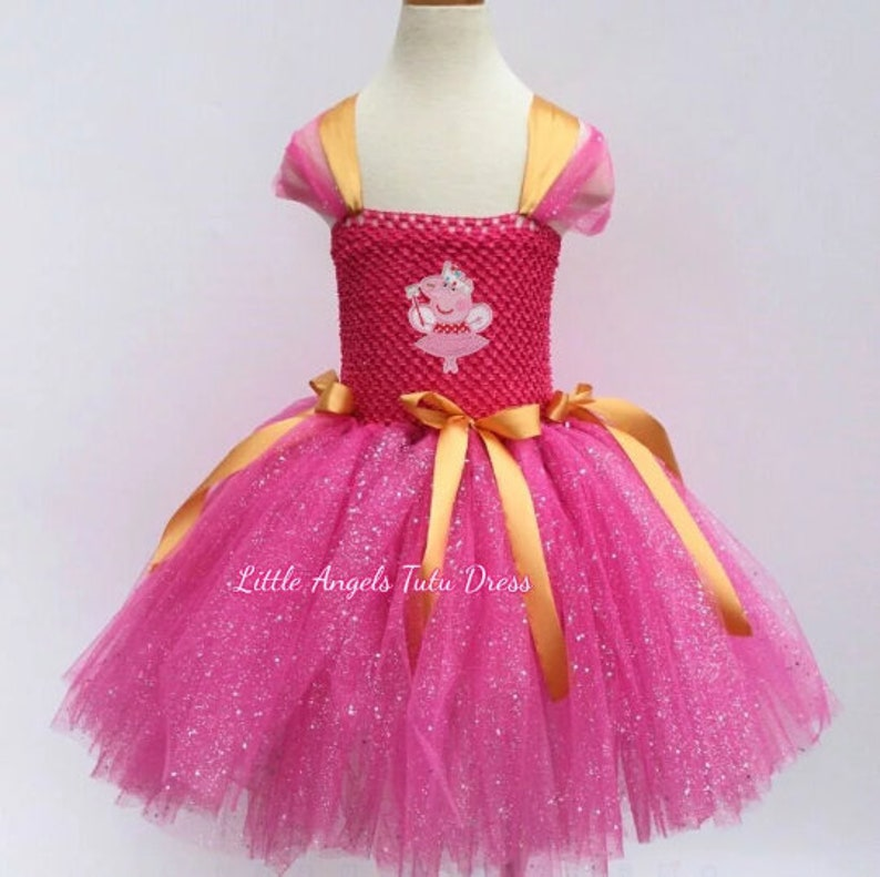 Pink Pig Costume Baby Toddler Girls Halloween Fancy Dress