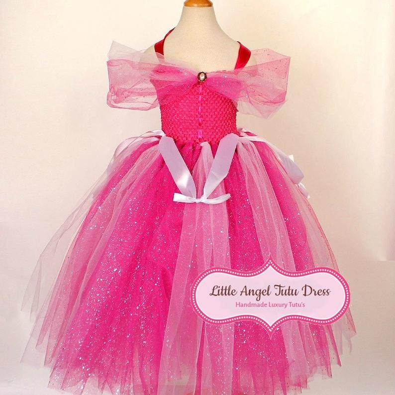 3a8f3d9de8a DELUXE Sleeping Beauty Tutu Dress. Disney Princess Dress.