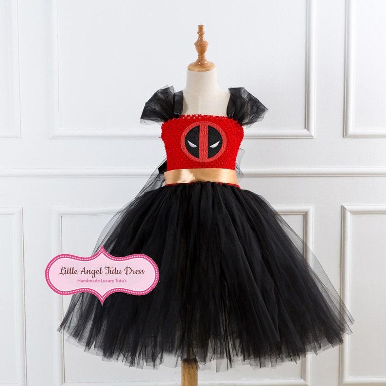 Girls Trolls Poppy Dress Cosplay Gown Kids Clothing Children Fancy Tutu Dress UK