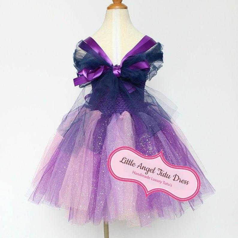 Twilight Costume Birthday Party Dress My Little Pony Twilight Sparkle Twilight Sparkle Tutu Dress Christmas Girls MLP Fancy Dress