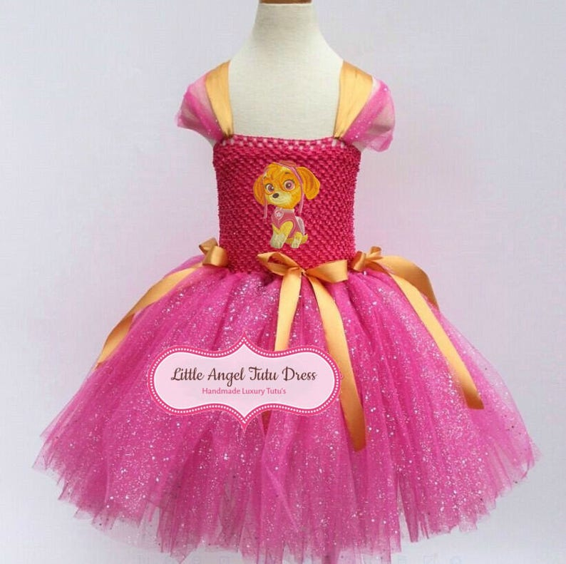 Sparkling Festive Christmas Angel 9 layered Tutu for Toddler /& Girls.