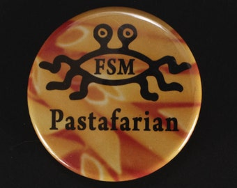 Quirky Buttons, FSM, hoopy frood, hitchhickers guide, pin, Lego, fandom, pinback buttons, lapel pin, backpack pin,