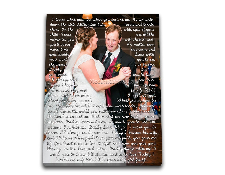 Father Daughter Wedding Gifts: Wedding Gifts. Father Daughter Dance. Me And Dad. Custom