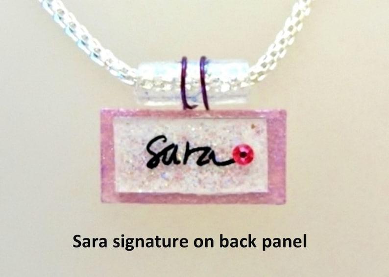 get it customized signature jewelry name pendant image 0