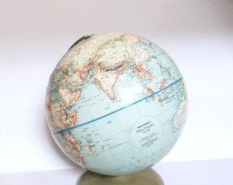 Rand Mcnally Globe Etsy