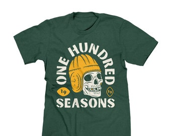 61ec888d Green Bay Packers 100th Season Premium T-shirt