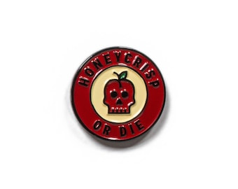 Honeycrisp or Die Soft Enamel Pin