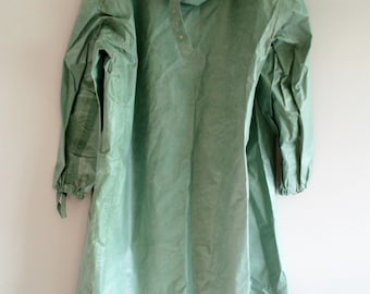 vintage rubber chemical protection suit OZK soviet russian army chemical gown chemical suit