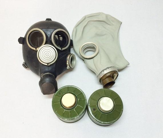 Black gas mask GP-7 gas mask filter 40mm gas mask props gas mask fetish