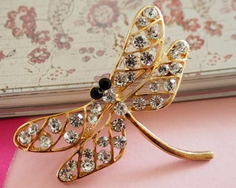 Dragonfly Brooch, Insect Brooch