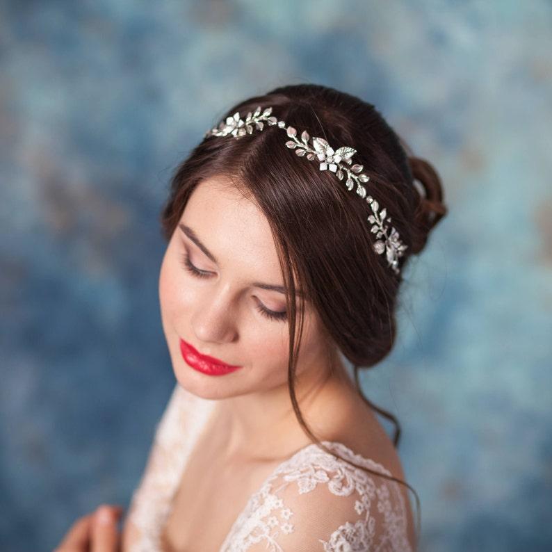 a05b6fc149bb4b Suknia ślubna włosy pokrzewić włosy powino hełma Suknie ślubne | Etsy