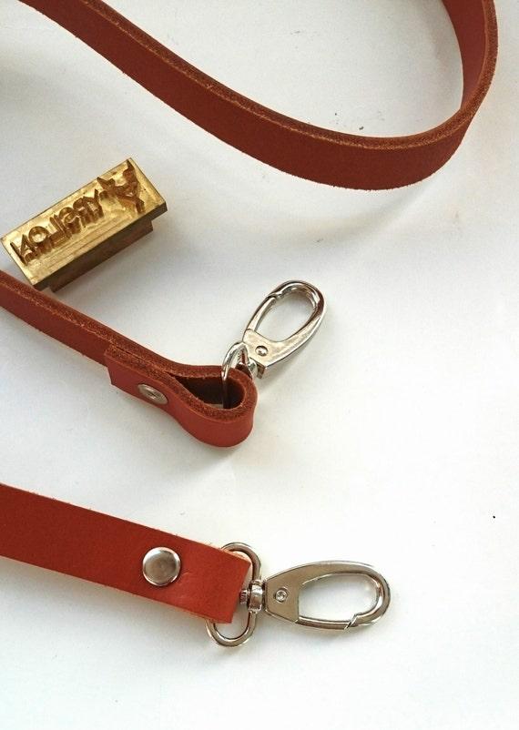 Removable Genuine Leather Strap, Leather Handle to your bag, make shoulder bag, crossbody lv handbag,Strap for bag DIY 120 cm /48 inches