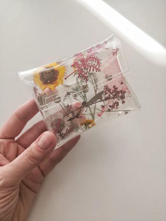 Ornate Floral Pattern #4 Business Card Holder Card Case Blue