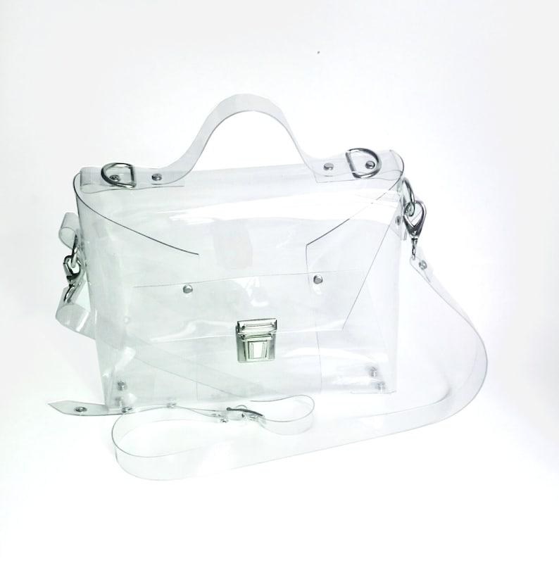 174fef24bb Clear cute crossbody messenger security purse for mass