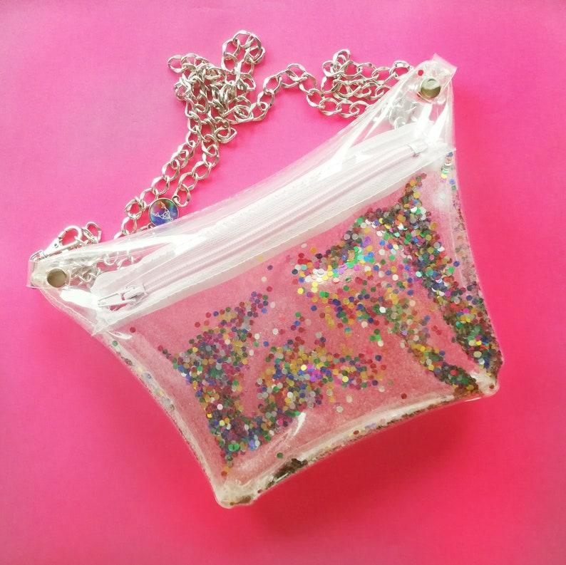 e35400d294e6 Confetti fanny pack glitter waist bag festival style bag | Etsy