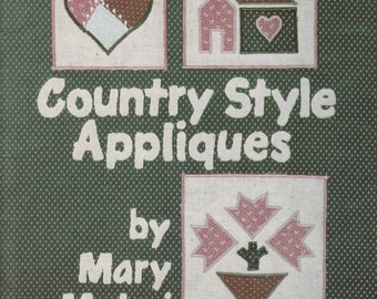 Daisy kingdom no sew fabric applique country cow and patchwork
