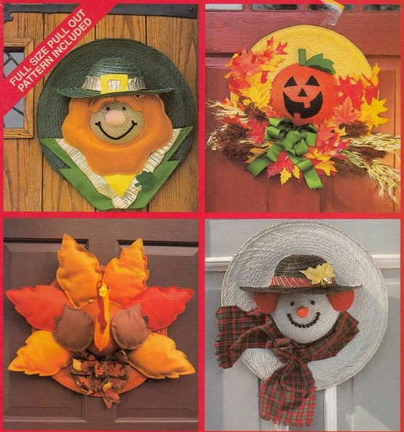 Simplicity Hats A-Door-Able Decorated Hats Sewing Patterns, Home ...