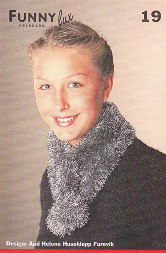 Knitted Scarf Pattern Scarf Knitting Pattern Knitted Etsy