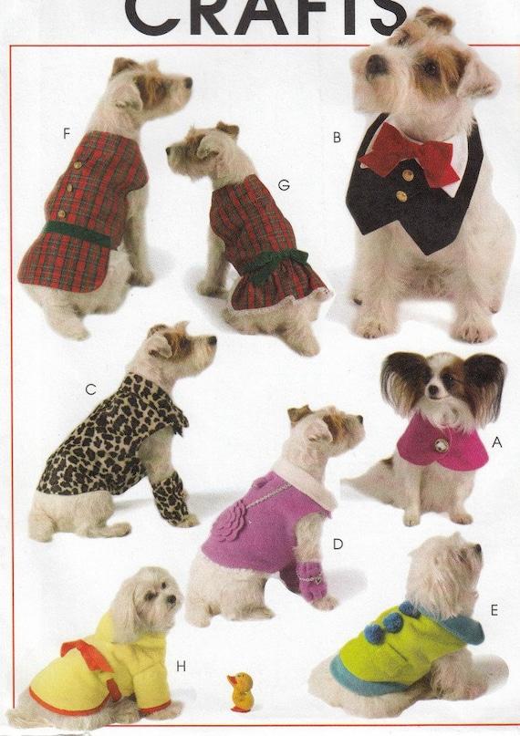Dog Clothes Sewing Pattern Dog Jacket Pattern Dog Clothing | Etsy