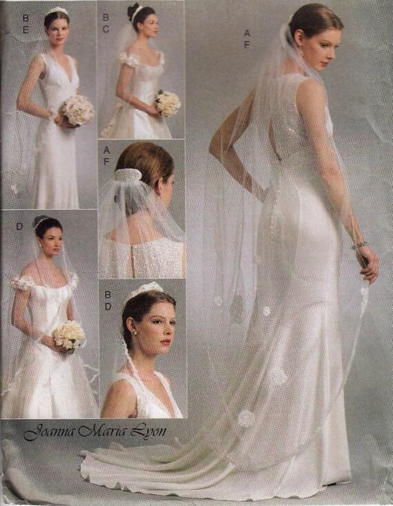Bridal Veil Sewing Pattern Bridal Sewing Pattern Wedding